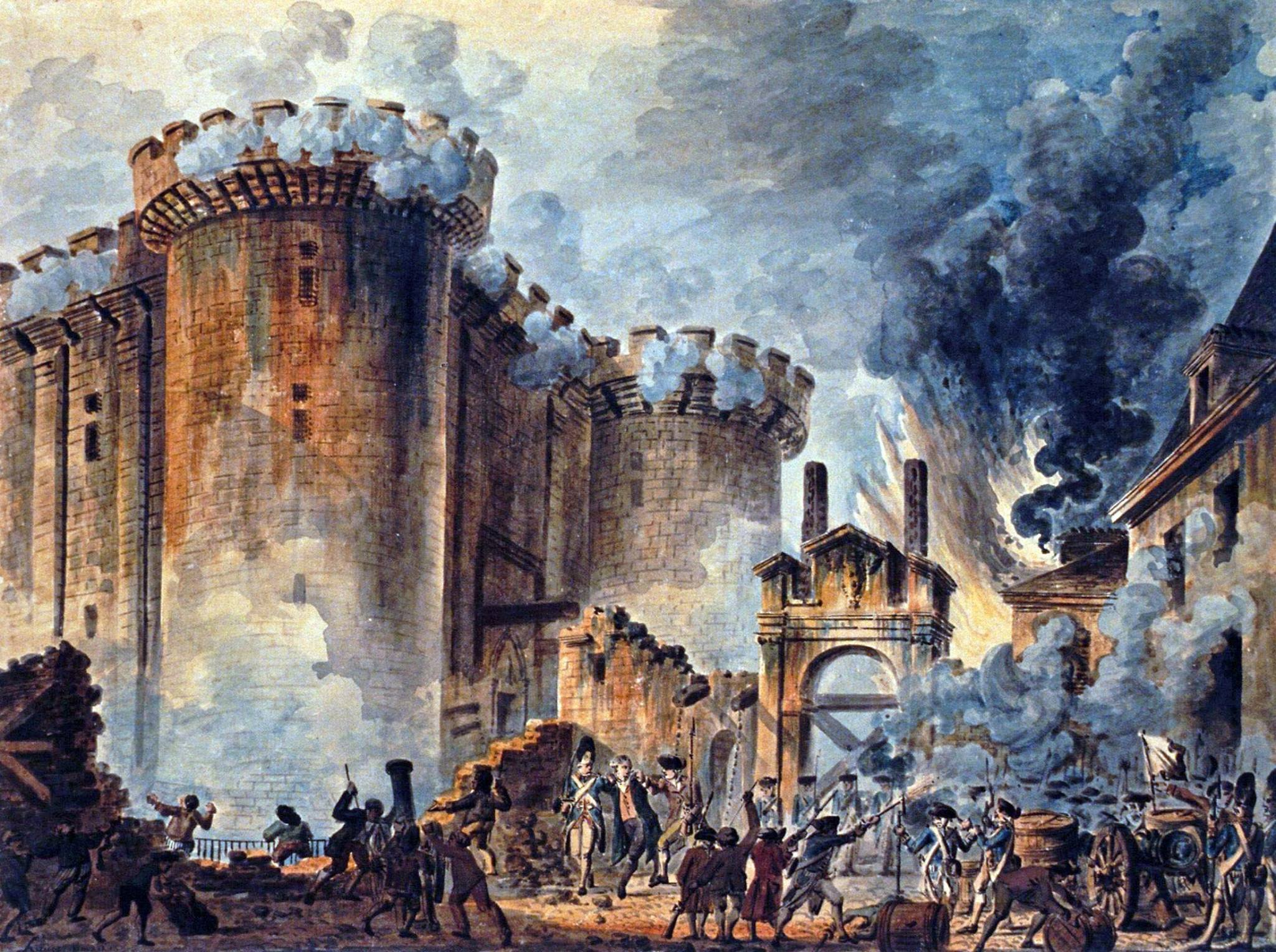 The Storming of the Bastille | revelationrevealed.online