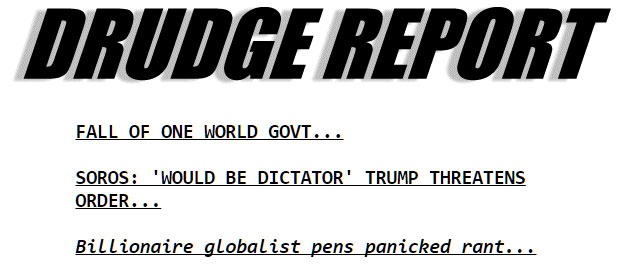 The Drudge Report Headlines | revelationrevealed.online