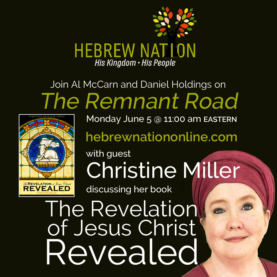 Christine Miller on Hebrew Nation Radio | revelationrevealed.online