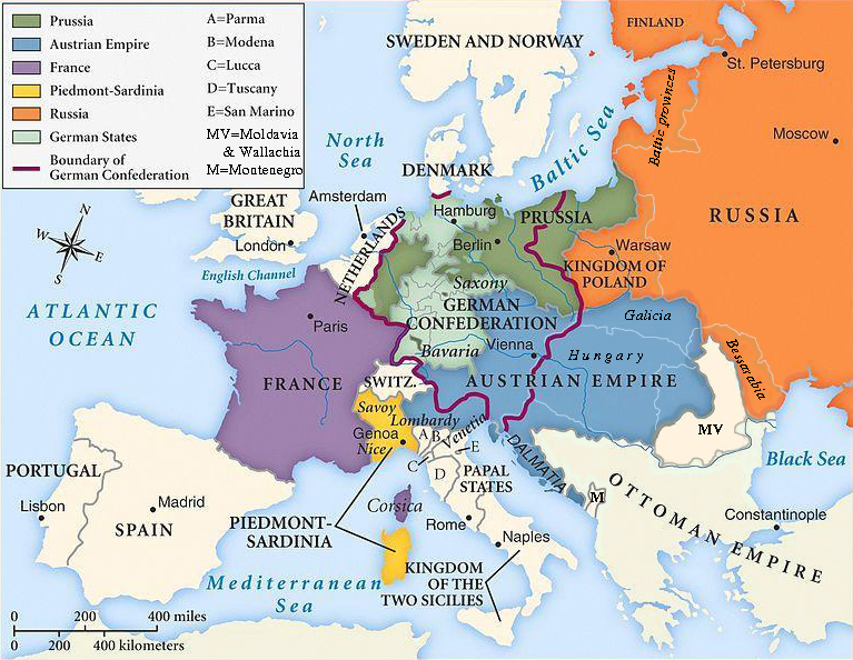 Europe in 1815 | revelationrevealed.online